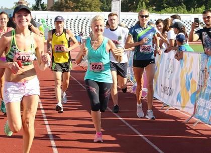 Светличная приняла участие в марафоне
