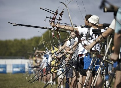 Харьковчане выиграли всеукраинские соревнования «Стрелы Слобожанщины»