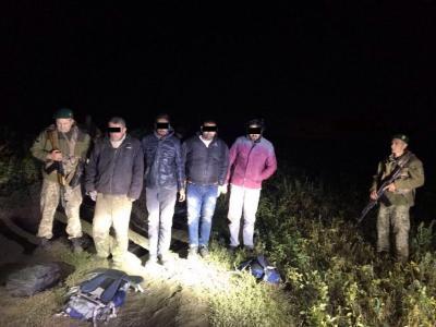 На Харьковщине пограничники с помощью тепловизора задержали нелегалов