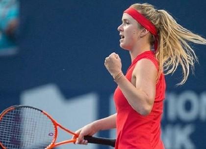 Украинская теннисистка Элина Свитолина не смогла выйти в ¼ финалаUS Open