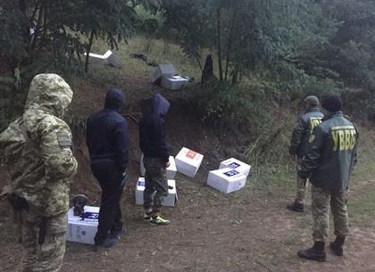 «Газель» с контрабандными российскими сигаретами задержали на границе