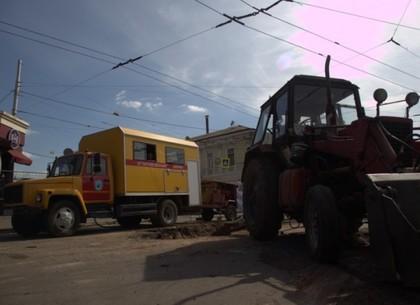 «Харьковводоканал» меняет изношенный трубопровод бестраншейным методом