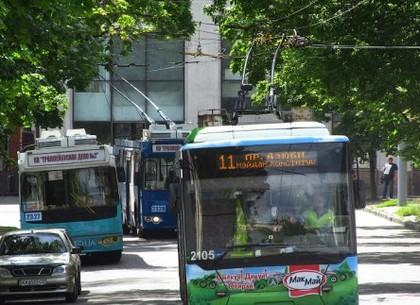 Троллейбус №11 и 27 временно изменят маршрут движения
