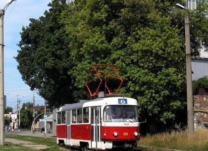 В воскресенье трамвай №6 изменит маршрут