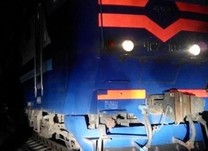 Под Харьковом поезд сбил женщину