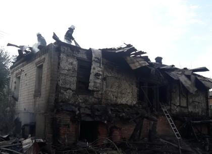 Под Харьковом сгорел пенсионер