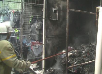 ВХарькове произошел пожар нарынке «Барабашова»