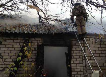 Под новоиспеченной Водолагой сгорел дом— умер хозяин дома