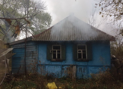 Двое людей сгорели врезультате пожара вХарьковской области