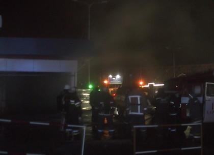 НаСалтовке произошел пожар впереходе станции метро
