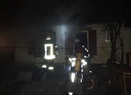 ВЗмиевском районе сгорел дом— впламени умер мужчина
