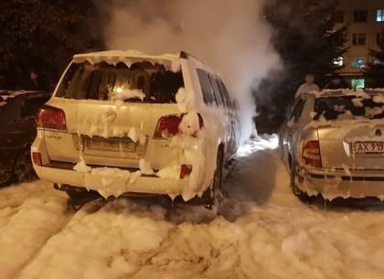 Мужу судьи поделу смертоносного ДТП вХарькове сожгли машину