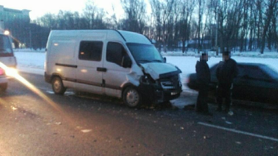 Авария с пострадавшими произошла на Новых домах (ФОТО)