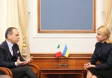 Юлия Светличная встретилась с Послом Италии в Украине