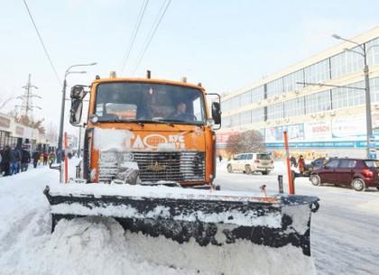 Лопата для уборки снега метла
