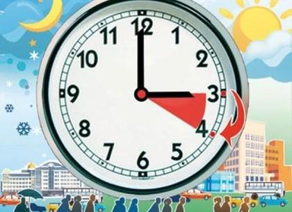 Украина переходит налетнее время