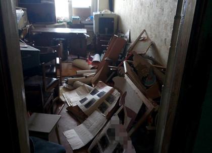 ВХарькове неизвестные напали наофис пророссийской организации