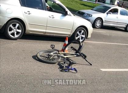 На Салтовке сбили велосипедиста