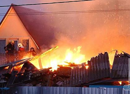 Под Харьковом взрыв газа