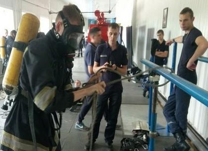 Харьковские спасатели приняли участие в конкурсе на звание лучшего по профессии