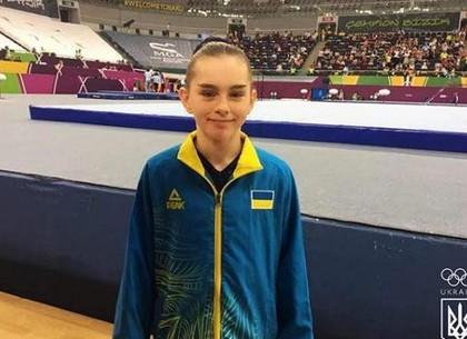 Юная харьковская гимнастка стала вице-чемпионом мультиспортивного форума