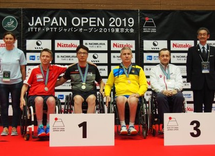 Харьковские паралимпийцы успешно выступили на турнире в Токио