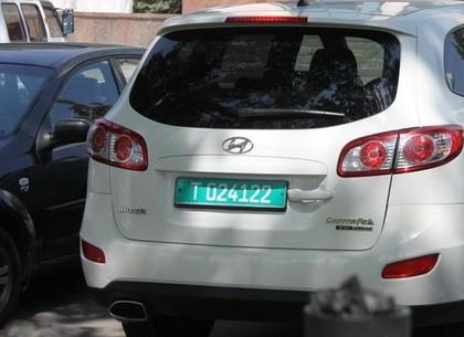 В Харькове появляться зеленые номера на некоторых видах авто