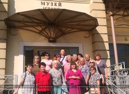 Подопечные Шевченковского терцентра посетили Музей ЮЖД