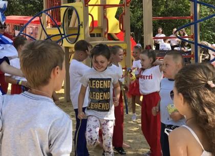 В Федорцах открыли спортивно-игровой комплекс