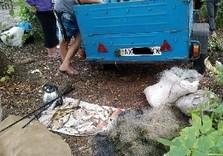На Печенежском водохранилище задержали нарушителя с 13 кг рыбы (ФОТО)
