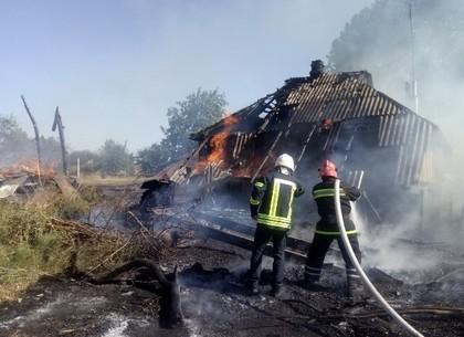 Хозяйка палила мусор – сожгла дом, сарай и сеновал