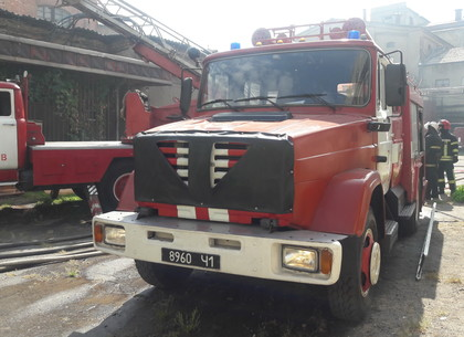 Заброшенное здание пивзавода сгорело в Харькове