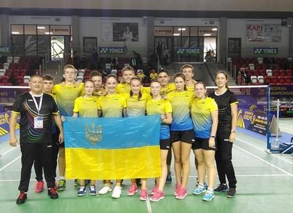 Харьковские бадминтонисты впервые за 10 лет взошли на подиум чемпионата Европы