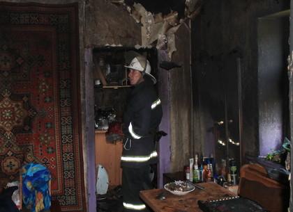 Семья пострадала от угара на пожаре