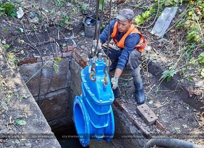 В городе ремонтируют магистрали холодного водоснабжения