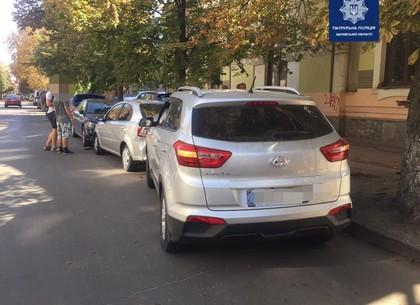 ДТП в центре Харькова: пострадали припаркованные автомобили
