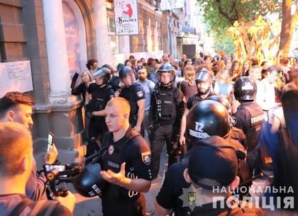 Полиции пришлось наводить порядок на лекции о толерантности