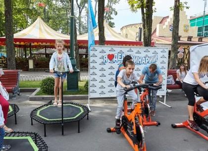 В субботу в парке Горького - ярмарка спорта