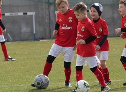 Португальская «Бенфика»  открывает футбольную академию в Харькове