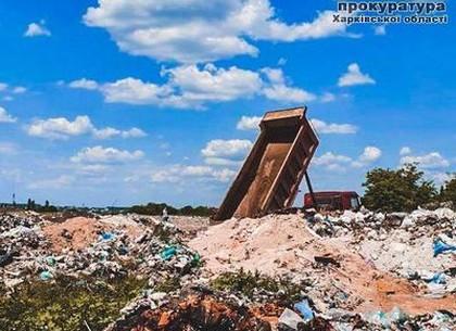 Работник свалки подозревается в загрязнении более одного гектара земли