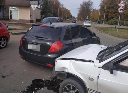 Пассажир ВАЗа пострадал в столкновении на ХТЗ