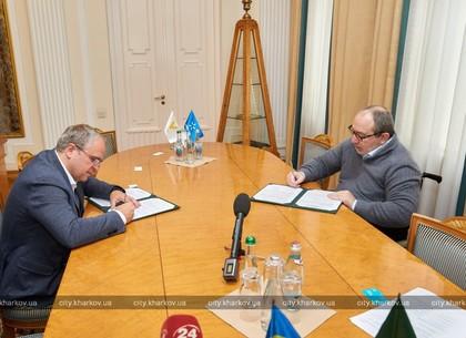 Геннадий Кернес подписал Меморандум о сотрудничестве с «Киевстар»