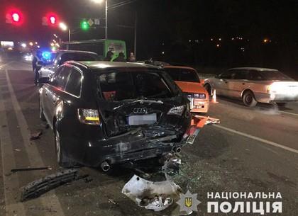Полиция уточнила данные участников массового ДТП на Журавлевке