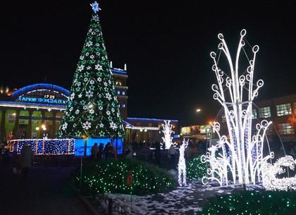 На Привокзальной площади в Харькове к новогодним праздникам установят 18-метровую елку