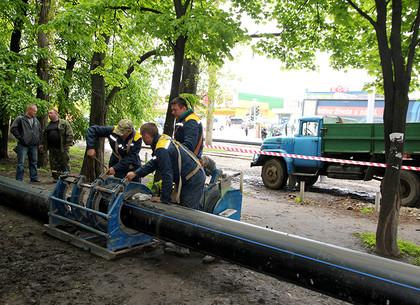 Где в городе будут менять трубы: планами на год поделились в Харьковводоканале