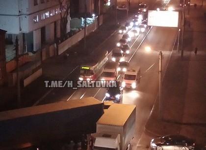 ДТП: фура наглухо перекрыла дорогу