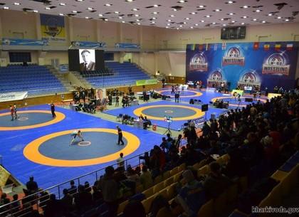 Борьба. Харьковчане победно выступили на международном турнире
