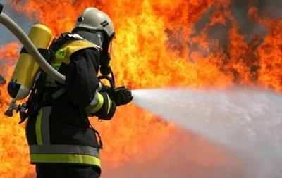 Кофе на колесах с огоньком сгорело в центре Харькова