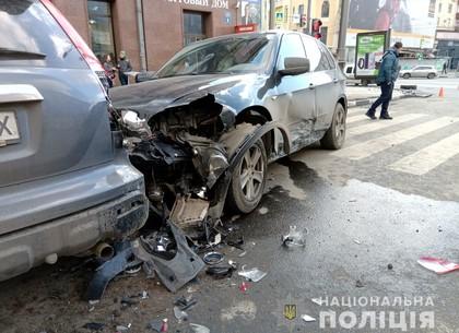 Сбил велосипедиста и побил три машины: информация от полиции