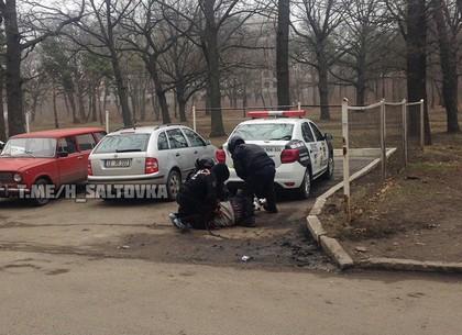 Иностранец буянил на Московском проспекте
